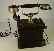 Antikes Kurbel Telefon vor 1945 (1)