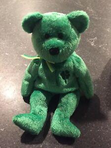 6ad3c0b78ac TY Beanie Baby - DUBLIN the Irish Bear (8.5 inch) - Stuffed Animal ...