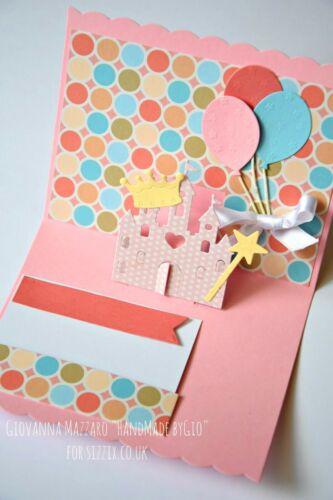 Sizzix Thinlits Birthday Pop-up Card 16PK #660290 Retail $29.99 by Lori Whitlock