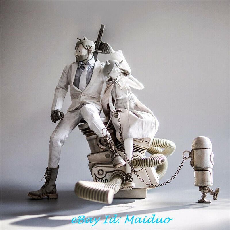 3 A Exilés et diables gravi Set Figurine de Collection Neuf