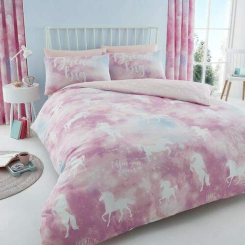 New Pretty Printed Swan Cheetah Reversible Duvet Quilt Cover Single Double King