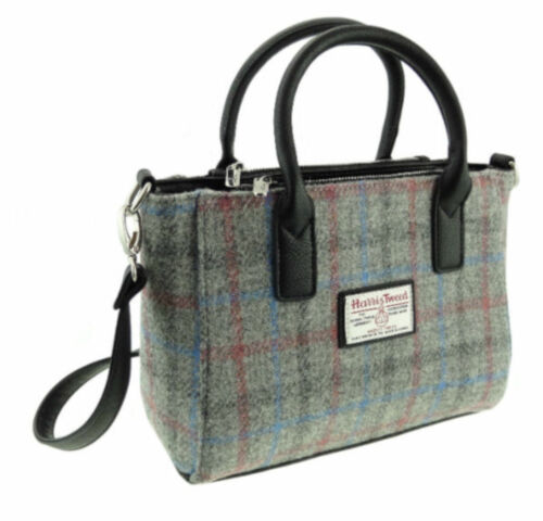 Ladies Authentic Harris Tweed Small Tote Bag With Shoulder Strap LB1228 COL 69