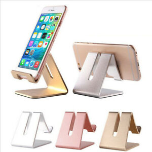 Universal-Aluminum-Cell-Phone-Desk-Desktop-Mount-Stand-Holder-For-Phone-Tablet