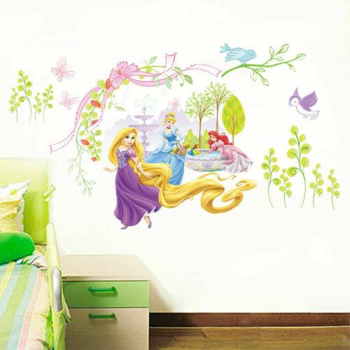 Fairy Princess Wall Sticker Girl Room Nursery Children Kids Girl Wall Decals