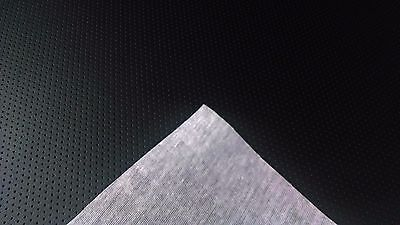 "White Perforated Marine Vinyl Fabric 15 Yards Car Boat Outdoor Upholstery 54/"" W"