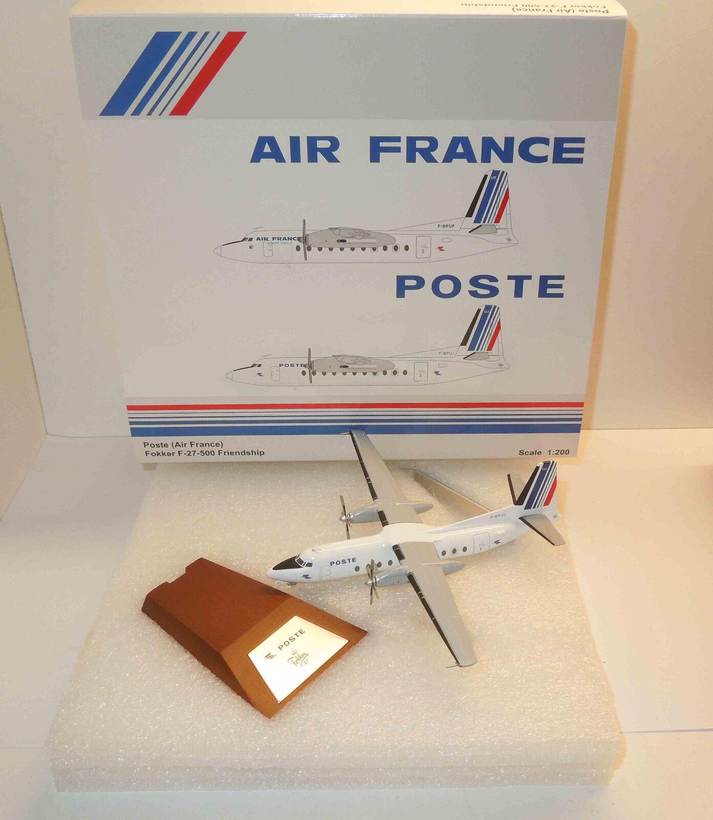 JC Wings 1 200 Fokker f-27-500 Poste Air France
