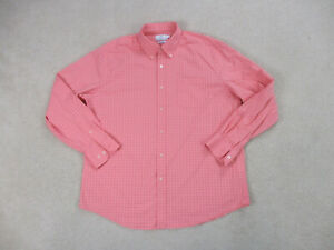 Southern-Tide-Button-Up-Shirt-Adult-Extra-Large-Pink-Long-Sleeve-Casual-Mens-B24