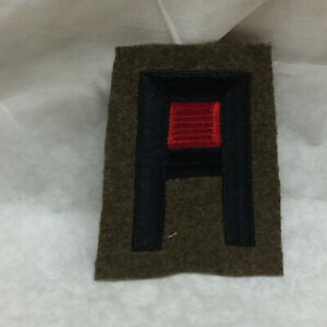 Military-1-Army-Artillery-Patch-Badge-Embroidered-on-Wool