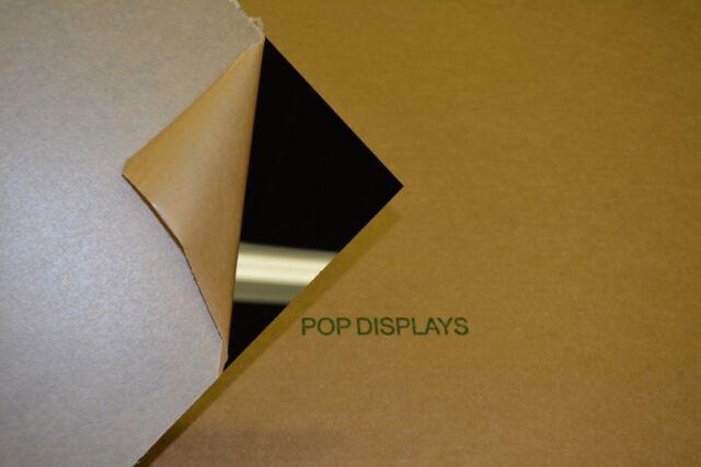 "black plexiglass acrylic sheet 1/4"" x  18.875"" x 9.875"""