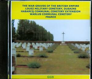 WAR-GRAVES-OF-LOUEZ-HABARCQ-amp-WARLUS-WW1-CD-ROM