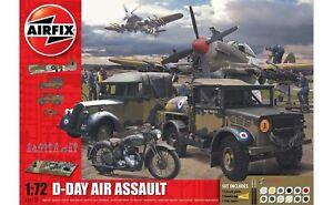 Airfix-Jour-J-75th-Anniversaire-Air-Assault-Ensemble-Cadeau-1-72-Modele-Kit
