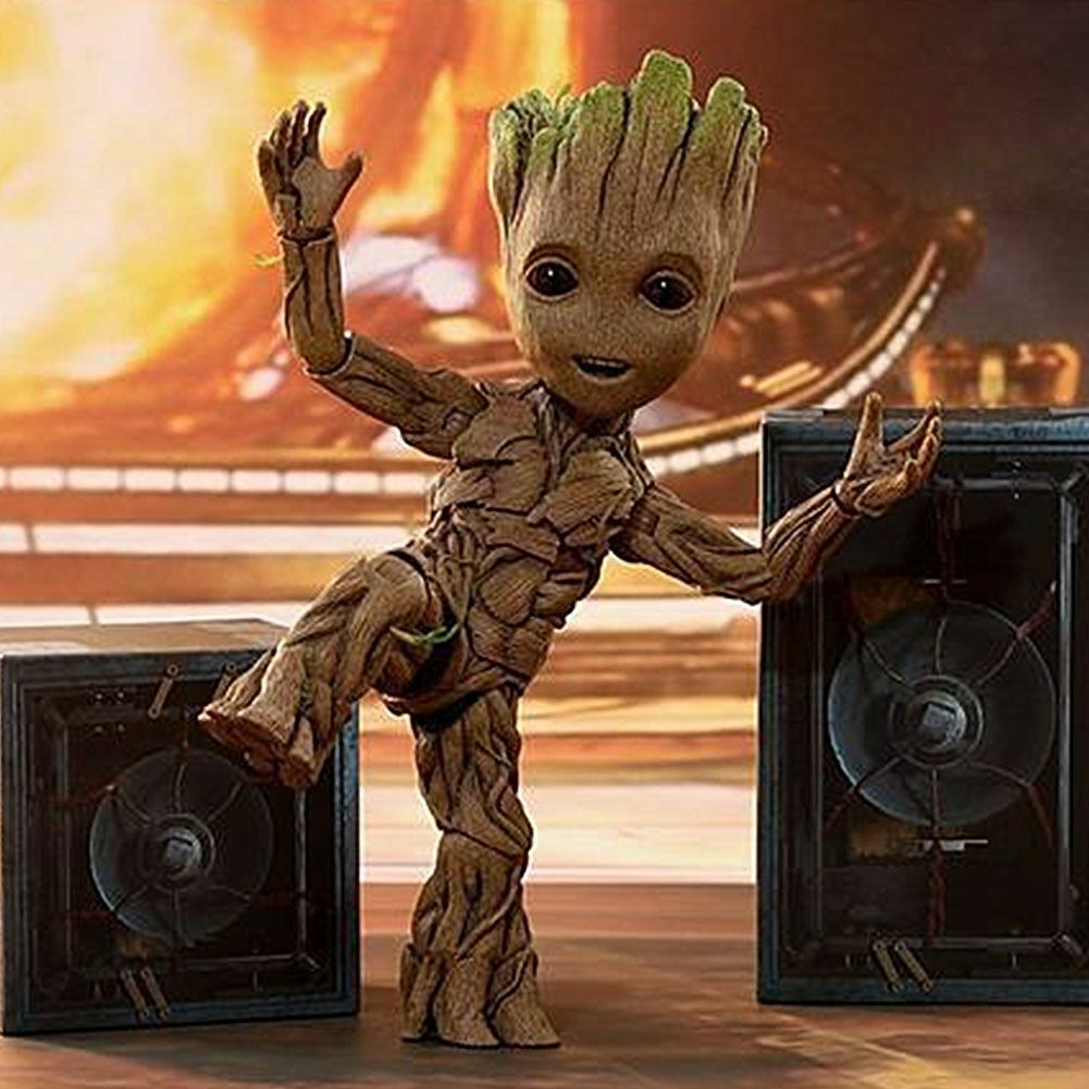 Guardians of the Galaxy 2 - Baby Groot 1 1 Scale Action figure Toys Gifts Xmas