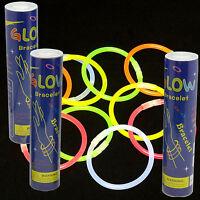 300 8 Glow Sticks Bracelets Light Stick Fun Favors Free Shipping Fast