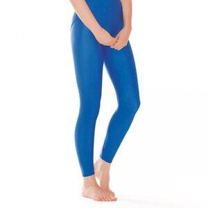 Girls /& Boys 1st Position Royal Blue Footless Nylon Dance Tights