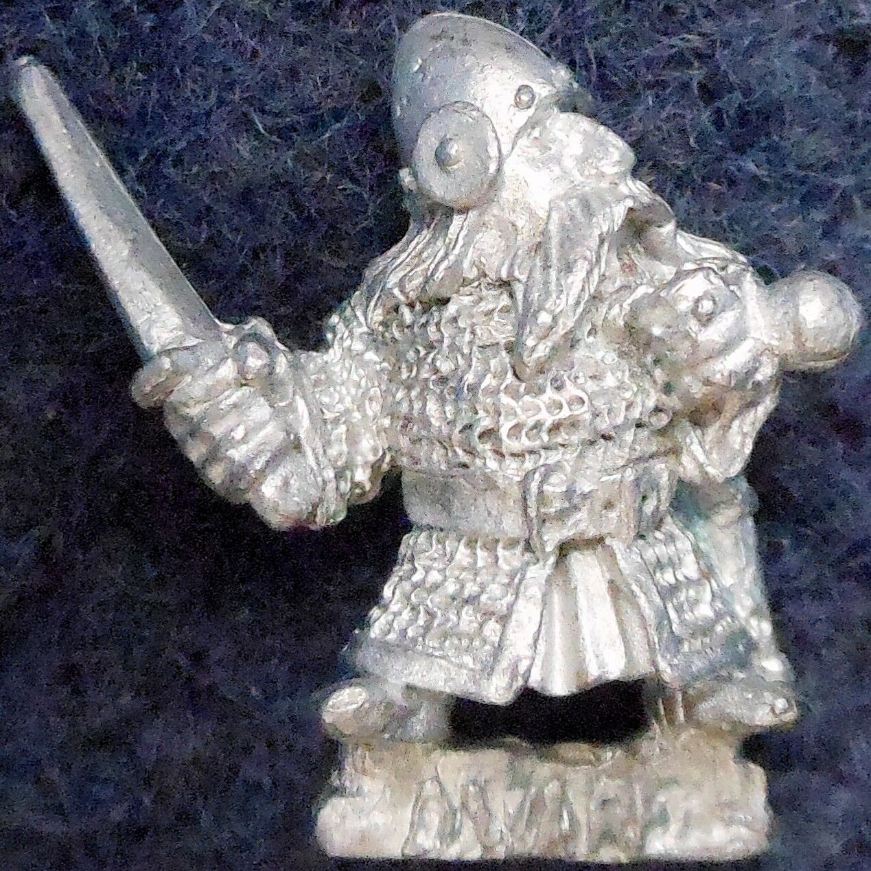 1985 Dwarf ME33 Alternative Sword 2 Lord of the Rings Variant Citadel AD&D LOTR
