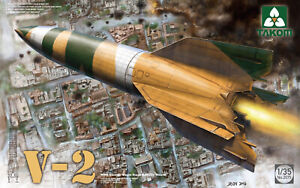 Takom-2075-1-35-German-V-2-Rocket-Hot