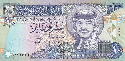 Jordan 10 Dinar 1992 UNC 25046
