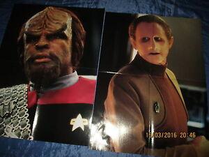 2  x  STAR  TREK  -  FILM   Poster , Science Fiction  KULT - TV - Serie  //  49
