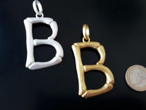 """De 1 A 15 Colgante Alta calidad Zamak LETRA /""""B/"""" abalorio personalizado letras"""