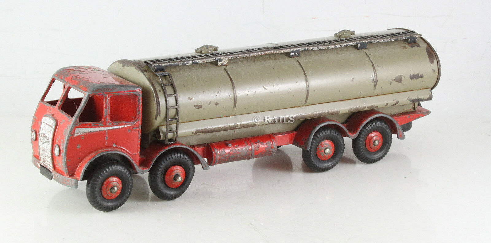 DINKY SUPERTOYS FAWN RED FODEN 14 TON TANKER