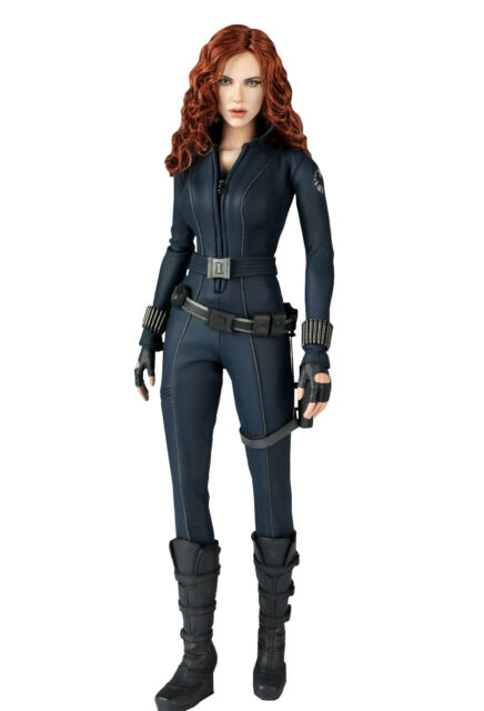 Hot Toys Iron Man 2 Black Widow 1 6th Scale Limited Edition Action Figure For Sale Online Ebay