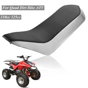 PVC Vinyl Foam Seat For 110cc 125cc Racing Style Quad Dirt Bike ATV 4-Wheeler