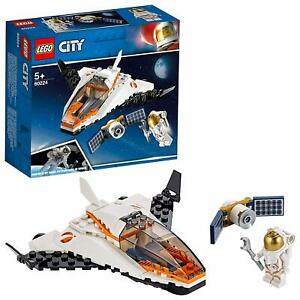 LEGO-60224-City-Satellite-Service-Mission-Mini-Space-Exploration-Shuttle-Playset