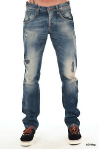 Pantalon Jeans Homme MELTIN POT MP001 D1575 UP250 - W30L34 US (40 FR) NEUF