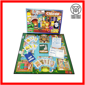 Cluedo-The-Simpsons-Waddingtons-Board-Game-Pewter-Figure-Mystery-Detective-Game