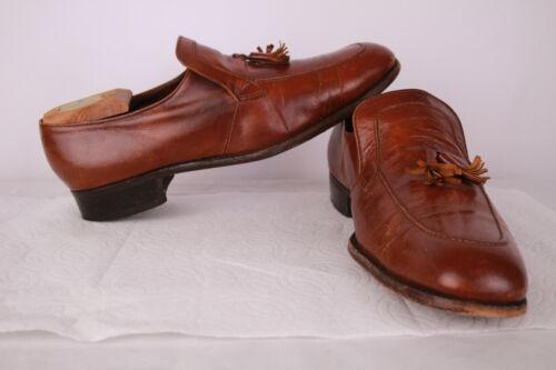 Florsheim Imperial Dress Shoes Mens Sz 10.5 B Vint