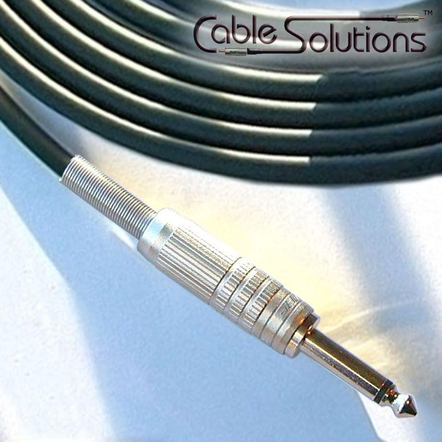 Canare GS-6 bajo nivel de ruido cable cable cable OFC Guitarra Instrumento, hechos a mano, 14m, Negro 720454