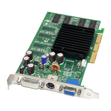 NVIDIA GeForce FX5200 TD 128 MB AGP VGA DVI Scheda Grafica fx5200-td128
