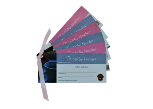 Details about  /Friendship Vouchers CouponsGift of Time for Best Friend BBFBabysitting