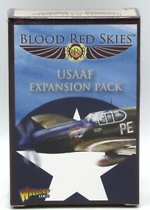Blood-Red-Skies-779512002-USAAF-Expansion-Pack-Cards-Game-Accessories-WWII-NIB