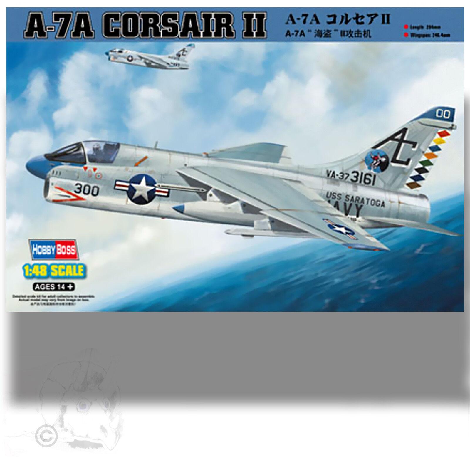 HOBBY BOSS 1 48 LTV A-7A CORSAIR II KIT 80342