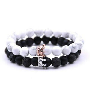 Fashion-Couple-King-His-And-Her-Queen-Bracelets-Friendship-Hand-Beads-Bracelets