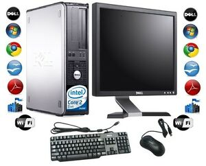 Cheap-Desktop-PC-Computer-Set-Dell-Windows-7-With-17-034-TFT-Monitor-FREE-P-amp-P