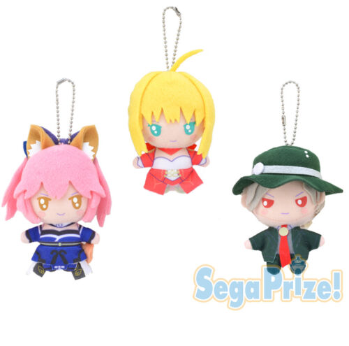 Fate Grand Order Sanrio Red Saber Nero Character Plush Key Chain Mascot Vol.6