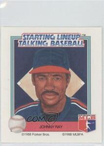 1988 Starting Lineup Talking Baseball California Angels Johnny Ray #15