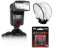 Bower Sfd728c Ttl Autofocus Flash F Canon E-ttl Ii Kit F Canon Eos Series Camera