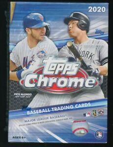 2020 Topps Chrome Baseball Factory Sealed BLASTER Box w/4 BONUS SEPIA REFRACTORS