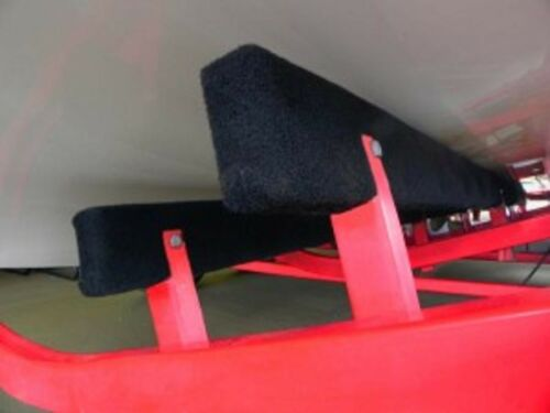 "BLACK 5/' Boat Trailer Bunk Boards Pontoon // Bass 2 2 x 4-1//4/"" Padding"