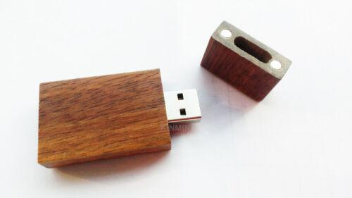 8GB Wooden USB Flash Drive Photography Wood 8G Wedding Thumb Pen Memory Stick