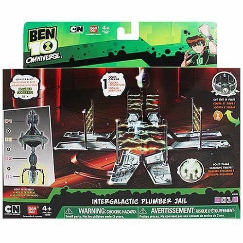 Ben 10 Intergalactic Plumber Jail Set