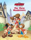 Disney Mickey Mouse The Three Musketeers - Hardcover Book