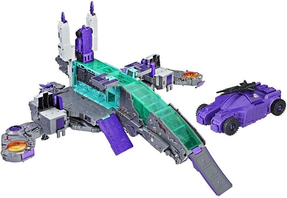Transformers Generations Decepticon Titans Return Class Figure Trypticon Playset