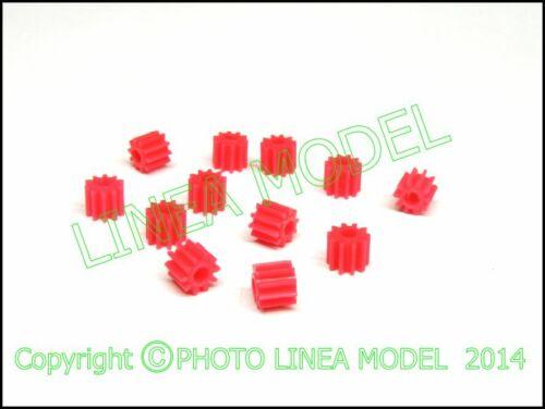Z 10 Denti diritti LINEAMODEL 12 pz Ingranaggi ad alta precisione Modulo 05