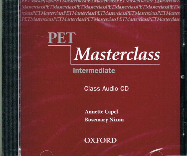 Oxford PET MASTERCLASS Intermediate Class Audio CD @NEW@ 9780194514040