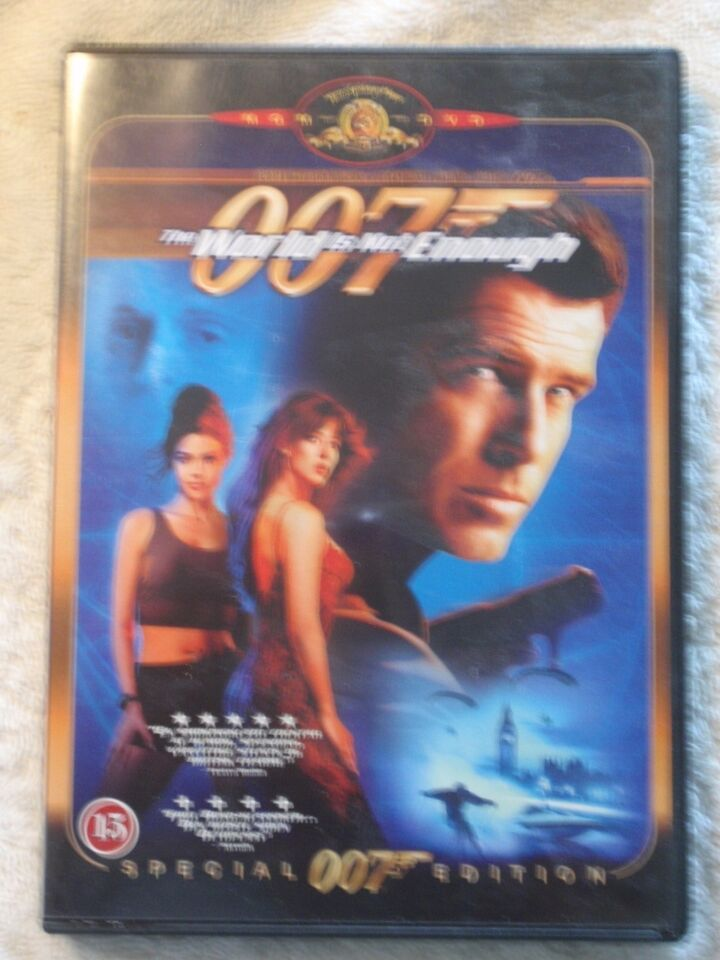 007 The Wolrd is not Enough, DVD, action