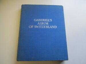 Good-Gaberell-039-s-Album-of-Switzerland-First-Volume-Jaton-Maurice-introduct